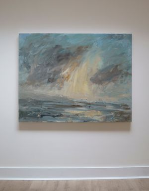 Applecross Light by Louise Balaam contemporary artwork painting, works on paper