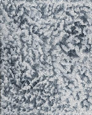 INFINITY-NETS OWTWQB by Yayoi Kusama contemporary artwork painting