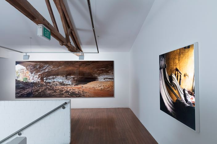 Exhibition view, Isaac Julien, Refuge, 2016. Courtesy Roslyn Oxley9 Gallery, Sydney.