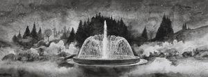 The Fountain (2) by Hans Op de Beeck contemporary artwork