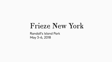 Contemporary art exhibition, Frieze NY 2018 at Xavier Hufkens, Brussels
