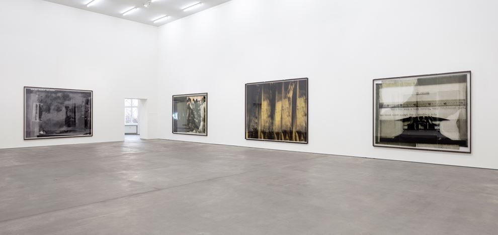Exhibition view: Astrid Klein,CUTS, Sprüth Magers, Berlin (1 February–6 April 2019). Courtesy Sprüth Magers. Photo: Timo Ohler