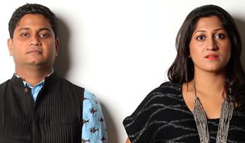 Prateek and Priyanka Raja