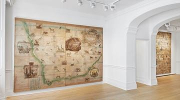 Contemporary art exhibition, Group Exhibition, Made Routes at Richard Saltoun Gallery, London