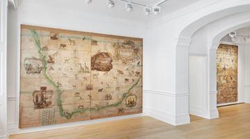 Contemporary art exhibition, Group Exhibition, Made Routes at Richard Saltoun Gallery, London