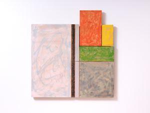 Still Life (Grey Floor) by James Ross contemporary artwork