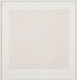Study for Static II by Bridget Riley contemporary artwork