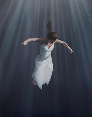 Transcend White by Joel Rea contemporary artwork