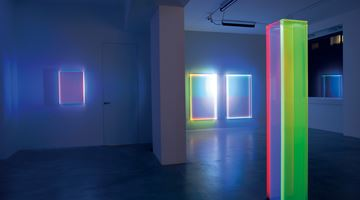 Contemporary art exhibition, Regine Schumann, Colormirror at Dep Art Gallery, Milan