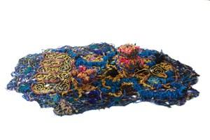 Buddha Footprint by Santi Wangchuan contemporary artwork