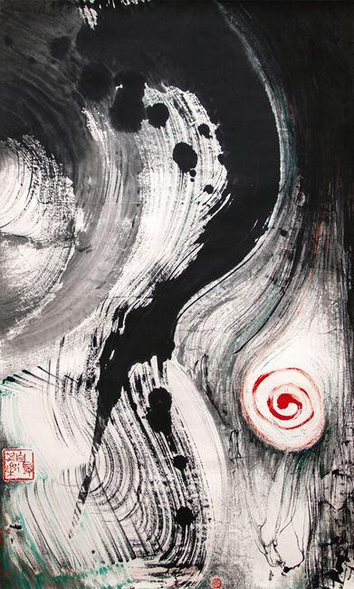 Infinity Landscape 《無垠的時空》 by Irene Chou contemporary artwork