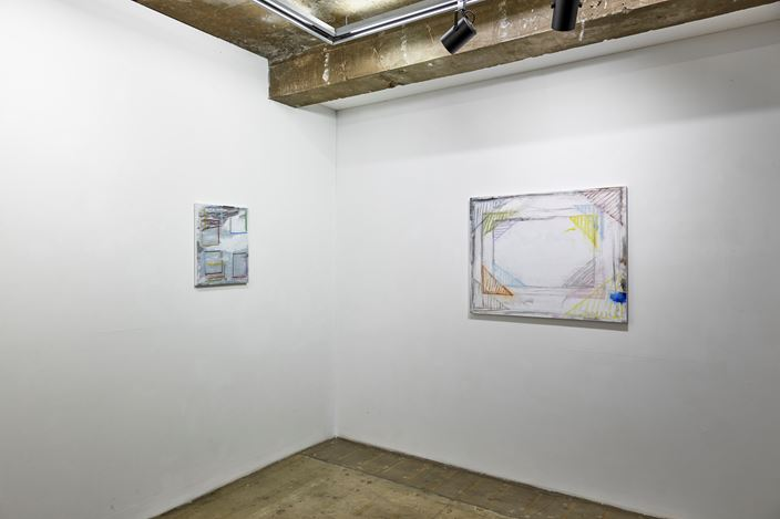 Exhibition view: Sen Chung, Formed The Universe, CHOI&LAGER Gallery, Seoul (24 September–15 October 2019). Courtesy CHOI&LAGER Gallery.