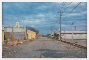 View of San Saba by Rod Penner contemporary artwork