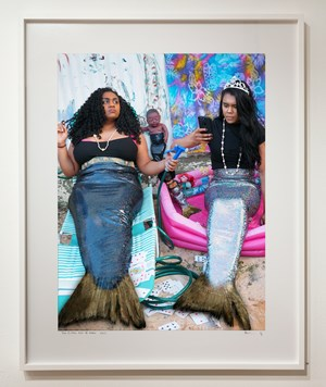 Two fishes out of Water by Destiny Deacon contemporary artwork