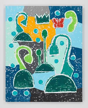 Sad Flowers by Olaf Breuning contemporary artwork