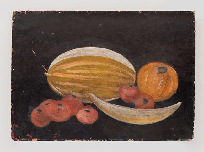 Still life with melon by Ashraf Murad contemporary artwork