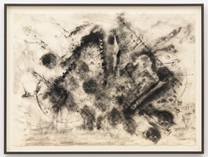 Looking For Bin Laden #8 (Second Set) by Jack Whitten contemporary artwork