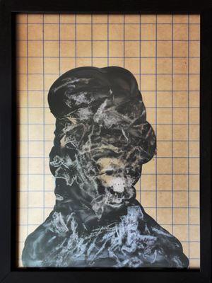 Ramana by Nalini Malani contemporary artwork