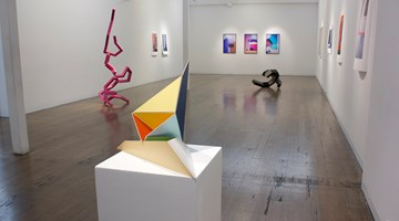 Contemporary art exhibition, Robert Owen, Jacky Redgate, Caleb Shea, Gemma Smith, Lydia Wegner, In the White Square at Arc One Gallery, Melbourne