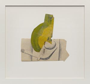 Poire coupée et pipe (Sliced Pear and Pipe) by Pablo Picasso contemporary artwork