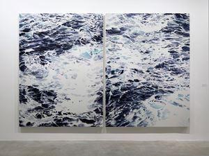 Wave No. 1 & 2 by Shi Zhiyang contemporary artwork