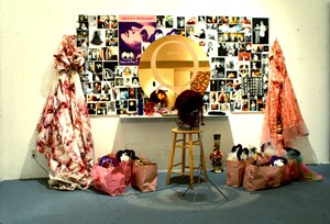 Patina du Prey's Queen Mirror Vanity by Hunter Reynolds contemporary artwork