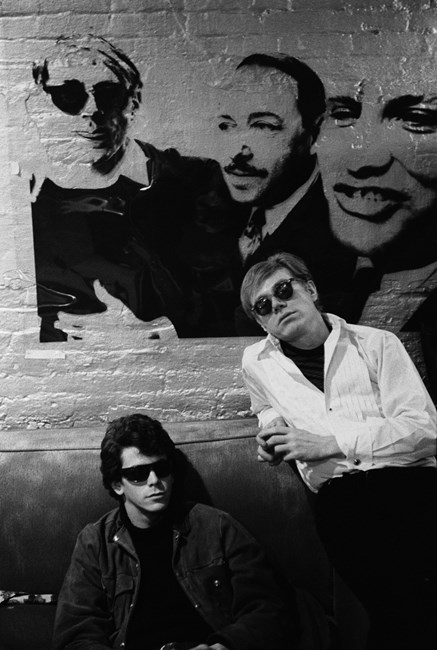 Lou Reed, Andy Warhol by Stephen Shore contemporary artwork