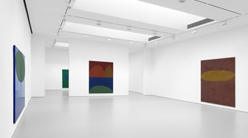 Contemporary art exhibition, Suzan Frecon, recent oil paintings at David Zwirner, New York