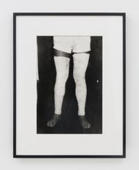 Untitled (Performance with surgical bandage) #6 by Ivens Machado contemporary artwork photography