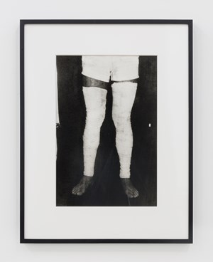 Untitled (Performance with surgical bandage) #6 by Ivens Machado contemporary artwork