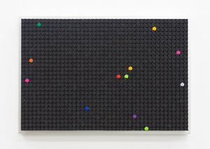 Automatic Drawing (Colour Constellation III) by Rebecca Baumann contemporary artwork