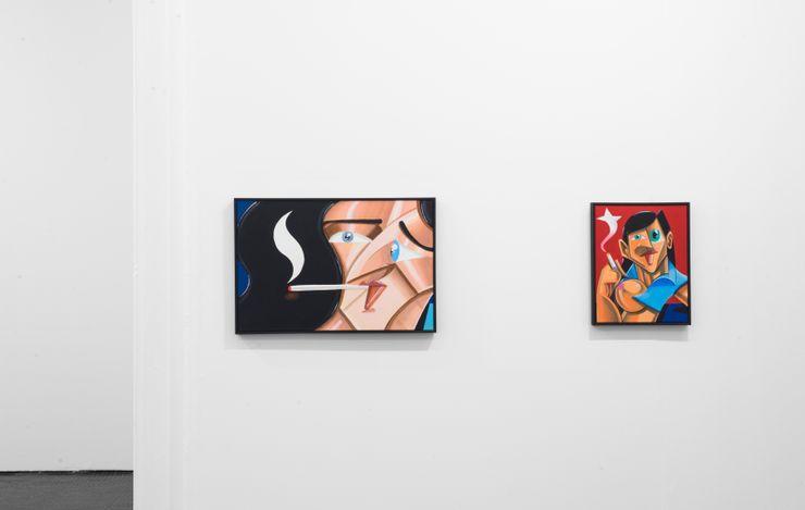 Exhibition view: Callan Grecia, Artist Room, SMAC Gallery, Cape Town (27 March 2021 - 8 May 2021). Courtesy SMAC Gallery.