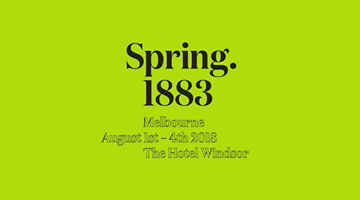Contemporary art exhibition, Spring 1883 Melbourne 2018 at Neon Parc, Melbourne