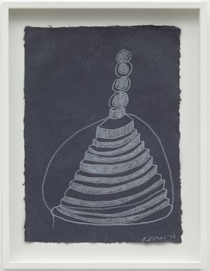 Untitled by Joan Jonas contemporary artwork works on paper, drawing
