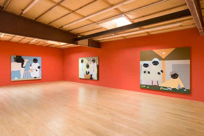 Exhibition view: Asuka Anastacia Ogawa, Blum & Poe, Los Angeles (23 March–1 May 2021). © Asuka Anastacia Ogawa. Courtesy the artist, Blum & Poe, Los Angeles/New York/Tokyo. Photo: Dan Finlayson.