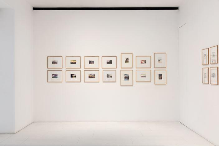 Exhibition view: Gerhard Richter,Overpainted Photographs, Gagosian, Davies Street, London (9 April—8 June 2019). © Gerhard Richter 2019 (09042019). Courtesy the artist and Gagosian.Photo: Lucy Dawkins.