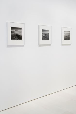 Exhibition view: Emmet Gowin,The Nevada Test Site, Pace Gallery, New York (25 October–21 December 2019). Courtesy Pace Galleryand Pace/MacGill.