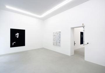Exhibition view: Mohamed Namou and Santiago Taccetti, حركة - Movimiento, Rolando Anselmi, Berlin (2 May–2 June 2018). Courtesy Rolando Anselmi, Berlin.