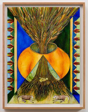 Tree Burial by Faith Wilding contemporary artwork