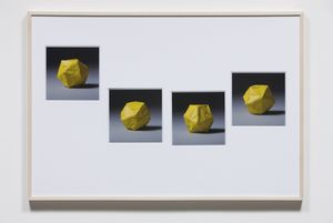 Imperfections – Baffled Rolling Head by Haegue Yang contemporary artwork