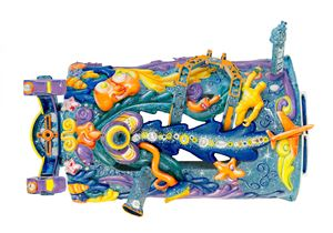 Bubblejet by Kenny Scharf contemporary artwork