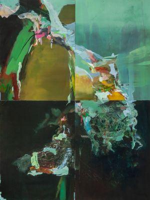 skipping stones by Hollis Heichemer contemporary artwork