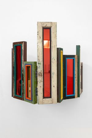Usefulness of Uselessness - Compressed Window No. 03 by Song Dong contemporary artwork sculpture