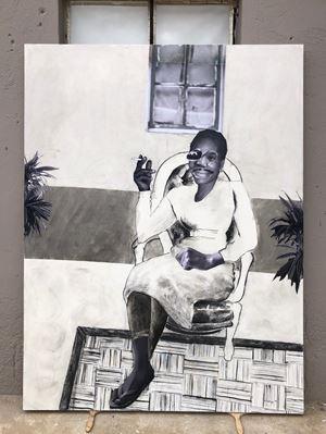 Mokgadi by Neo Matloga contemporary artwork