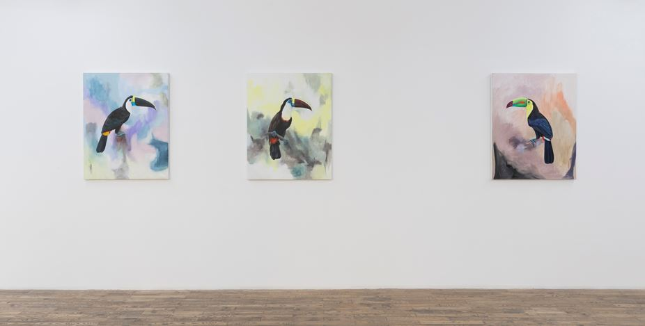 Exhibition view: Romain Bernini, Tristes Tropiques,HdM Gallery, Beijing (5 December 2020–16 January 2021). Courtesy HdM Gallery.