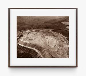 Pictures of Earthworks: Footsteps (João Pereira, Iron Mine) by Vik Muniz contemporary artwork