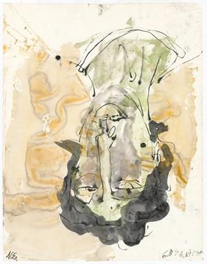 N.E. by Georg Baselitz contemporary artwork