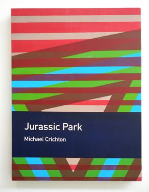 Jurassic Park / Michael Crichton by Heman Chong contemporary artwork