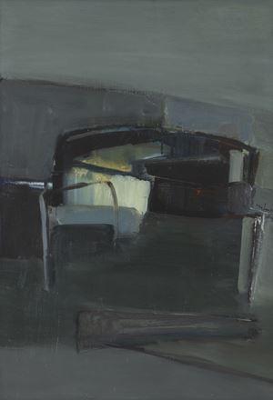 Composition grise by Gisèle Van Lange contemporary artwork