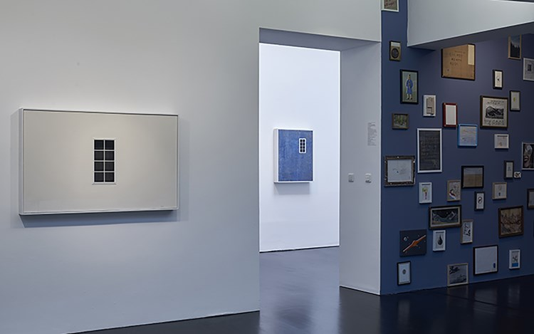 Exhibition view: Kim Eull,Three Steps To The Left, One Step Forward, CHOI&LAGER Gallery, Cologne (28 May–30 July 2017). Courtesy CHOI&LAGER Gallery.